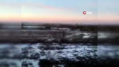 - Ukraynalı askerlerin ve ayrılıkçıların çatışmaları amatör kameraya yansıdı