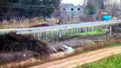 Yolun karşısına geçmeye çalışan çocuğun öldüğü kaza kamerada