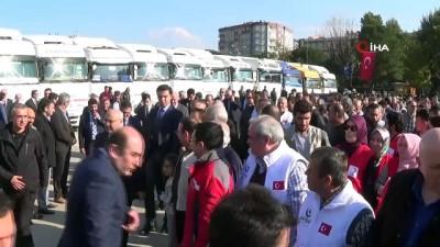 yardim kampanyasi -  Aydın'dan, Elazığ ve İdlib'e 28 tırlık yardım malzemesi konvoyu yola çıktı
