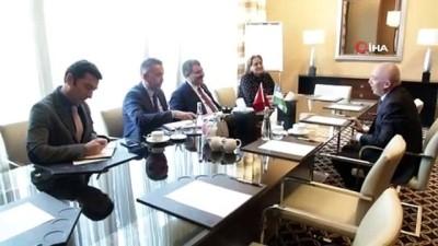 Bakan Koca, Özbekistan Sağlık Bakanı ile bir araya geldi
