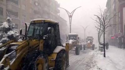 Kar yağışı etkili oldu - HAKKARİ