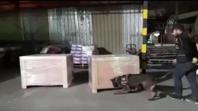 Kargo aktarım merkezinde 11 bin paket kaçak sigara ele geçirildi - GAZİANTEP