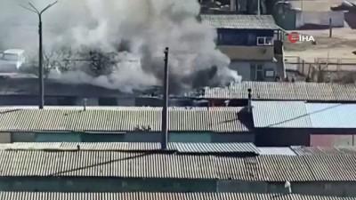 - Kiev'de garaj kooperatifinde yangın