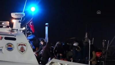 akalan - Sahil Güvenlikten düzensiz göçmen operasyonu - ÇANAKKALE