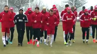 sili - Sivasspor'da Alanyaspor maçı hazırlıkları sürüyor - SİVAS