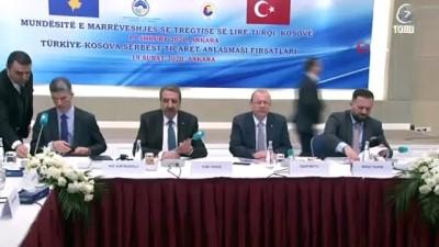 uluslararasi -  Türkiye-Kosova Serbest Ticaret Anlaşması'nın getirdiği fırsatlar toplantıda masaya yatırıldı