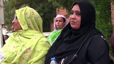 hukumet - Yakınlarının Çin'den tahliyesini isteyen Sudanlılardan Cumhurbaşkanlığı önünde eylem - HARTUM