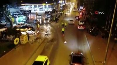 cevik kuvvet -  2 bin 720 polisle havadan ve karadan huzur uygulaması