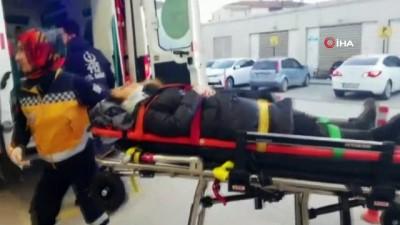 tahkikat -  Bursa'da iki farklı yerde meydana gelen kazada 4 kişi yaralandı