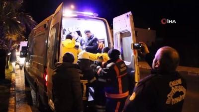 - İki kişinin öldüğü kaza anı güvenlik kamerasında