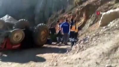 Kullandığı traktörün altında kalan 16 yaşındaki çocuk feci şekilde can verdi
