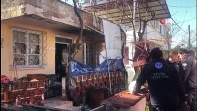tahkikat -  Yangında evden çıkamayan yaşlı adam ölü bulundu