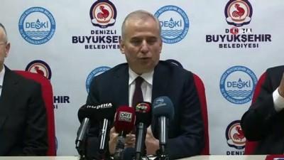 hassasiyet -  Başkan Zolan: 'Türkiye'nin en temiz suyu Denizli'de olmaya devam edecek'