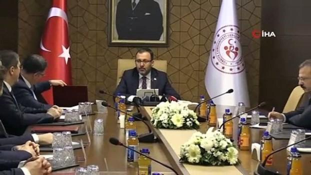 yerel yonetimler - Gençlik ve Spor Bakanlığı'ndan Tokat' a 42 Milyon TL' lik yatırım Haberi