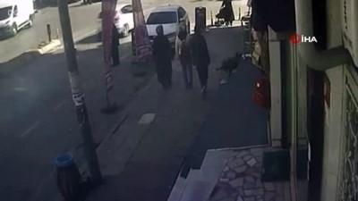 akalan -  Kağıthane'de yankesicilik yapan çocuğun yakalanması kamerada