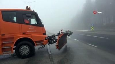 gesi -  Bolu Dağı'nda sağanak ve sis etkili oluyor