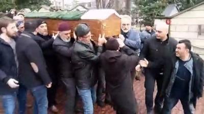 cenaze namazi -  Otobüsle kafa kafaya çarpışan otomobilin sürücüsü toprağa verildi