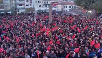 Cumhurbaşkanı Erdoğan, Bergama'da konuştu: 'Savunma sanayinde yerlilik oranı yüzde 20'ydi, şimdi yüzde 70'in üzerine çıktı'