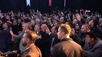 """acilis toreni -  Cumhurbaşkanı Erdoğan: """"Bu ülkede taş üstüne taş koyanın başımız üstünde yeri vardır"""""""