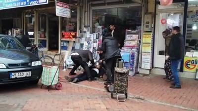 silahli kavga -  Sokak ortasında silahlı kavga: 1 ölü