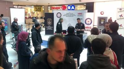 Bursa'da AVM'de 'Narkotik nokta' uygulaması