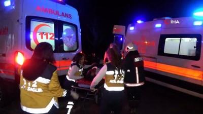 Fatih'te 9 araç kundaklandı, mahalle panik içinde sokağa döküldü