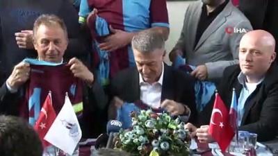 forma - Trabzonspor Başkanı Ahmet Ağaoğlu'na Kocaeli'de yoğun ilgi