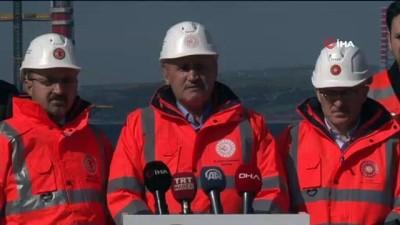 Ulaştırma ve Altyapı Bakanı Turhan:'2022 Mart ayında 15 Mart Çanakkale köprüsünü trafiğe açmayı planlıyoruz'