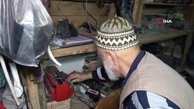 yurt disi -  64 yılını diktiği ayakkabılara sığdırdı
