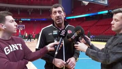 ispanya - A Milli Basketbol Takımı'nda İsveç maçı hazırlıkları -STOCKHOLM