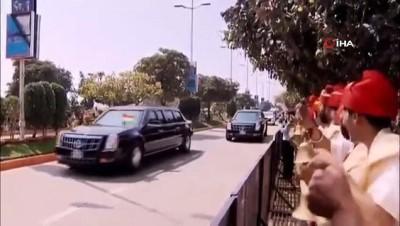 - ABD Başkanı Trump, ilk resmi ziyareti için Hindistan'da