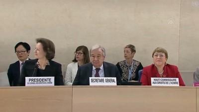 BM İnsan Hakları Konseyinin 43. oturumu başladı - BM Genel Sekreteri Guterres - CENEVRE
