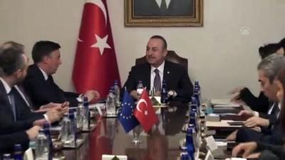 Dışişleri Bakanı Mevlüt Çavuşoğlu'nun kabulü - ANKARA