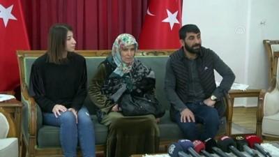 HDP önünde eylem yapan bir aile daha evladına kavuştu - DİYARBAKIR
