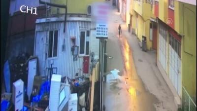 Hurdalıkta bir kişinin öldüğü silahlı kavga güvenlik kamerasında - BURSA