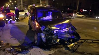 Mersin'de trafik kazaları: 2'si ağır 9 yaralı
