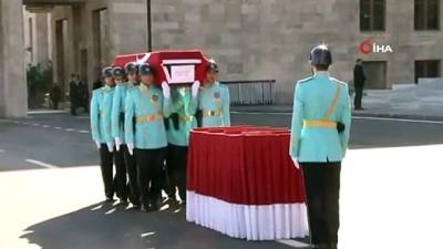 cenaze namazi -  21. Dönem Çankırı Milletvekili İrfan Keleş için TBMM'de tören düzenlendi