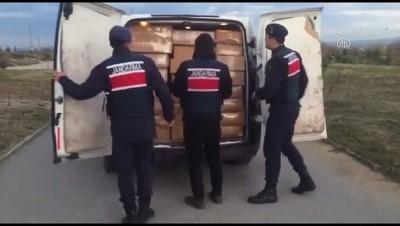 5 ton 720 kilo kaçak tütün ele geçirildi - KOCAELİ