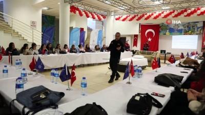 Aydın'da engellilere deprem eğitimi