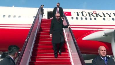 - Cumhurbaşkanı Erdoğan, Azerbaycan'a geldi