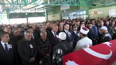 cenaze namazi -  Denizde cesedi bulunan bekçi son yolculuğuna uğurlandı