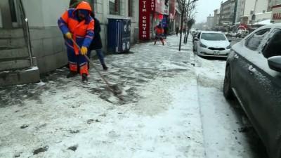 Doğu Anadolu'da kar yağışı etkili oldu - ERZURUM