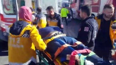 Esenyurt'ta zincirleme trafik kazasında 1 kişi yaralandı - İSTANBUL