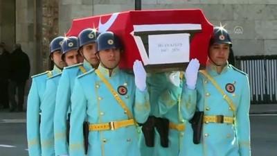 cenaze namazi - Eski MHP Milletvekili İrfan Keleş için TBMM'de cenaze töreni düzenlendi