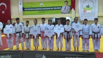 yuzme - Osmangazi'de judo heyecanı