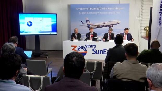 ispanya - SunExpress Üst Yönetici Bischof: 'Küresel havacılık sektörü ılımlı büyüyecek' - İSTANBUL