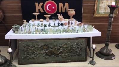 yurt disi - 3 bin 718 parça tarihi eser ele geçirildi - İSTANBUL