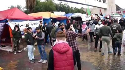 hukumet - Irak'ta hükümet karşıtı gösteriler devam ediyor - BAĞDAT