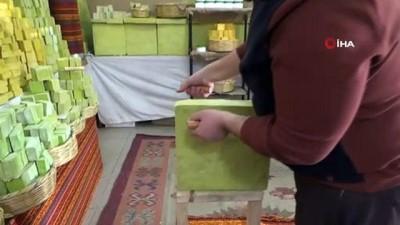 yurt disi -  Siirt'ten dünyaya 'bıttım sabunu' satıyor