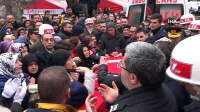 teroristler -  Afyonlu şehit Piyade Yüzbaşı Süleyman Şahin son yolculuğuna uğurlandı